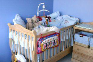 Где поставить детскую кровать?