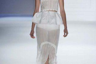 Прозрачная многослойность от  Vera Wang: коллекция весна-лето 2012