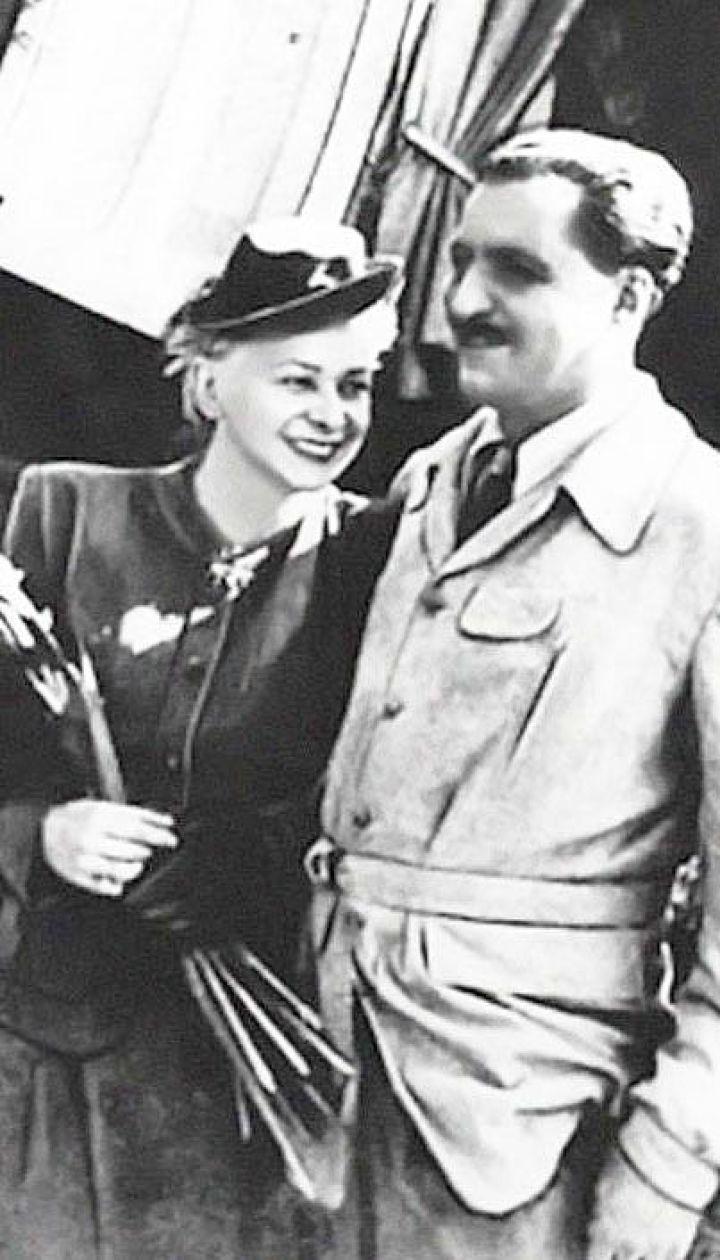 Валентина Серова и Константин Симонов Франция, 1946 год
