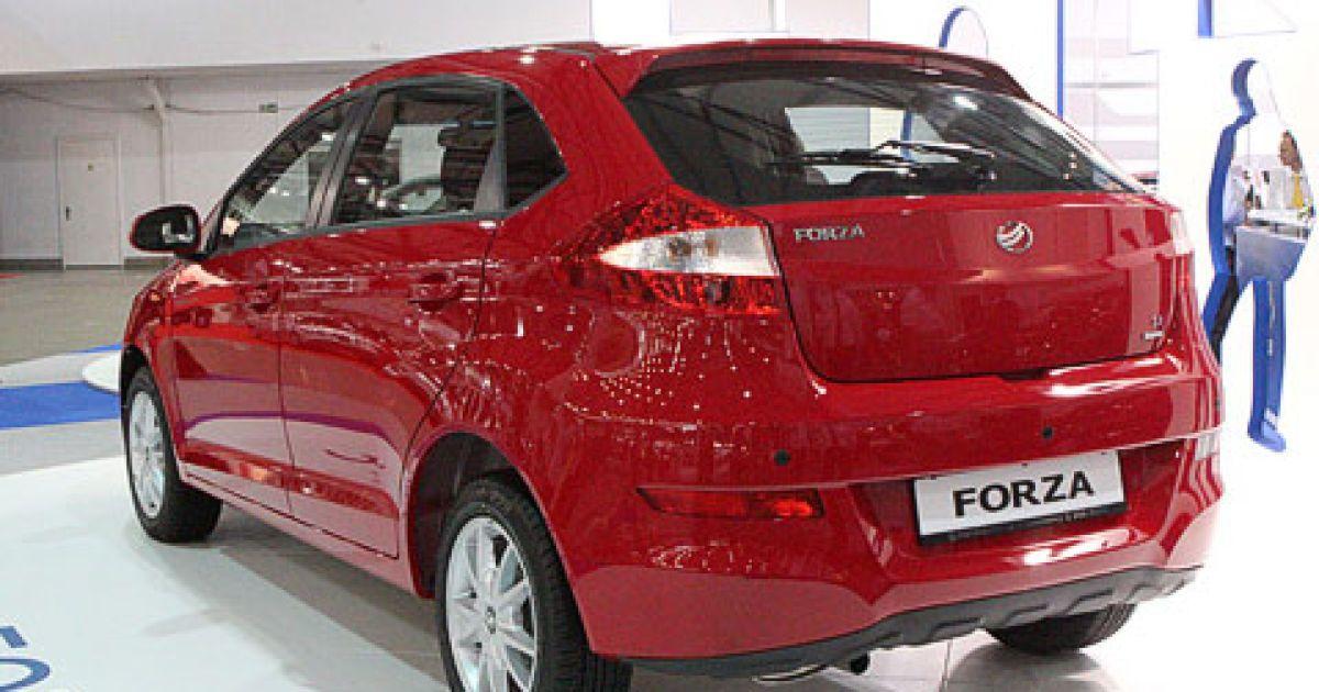ZAZ Forza (китайская Chery A13)