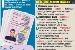 Гаишники тайно метят водительские удостоверения