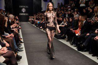 Украинским модницам показали эксклюзивные платья
