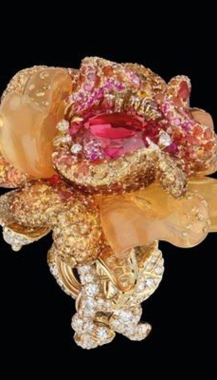 b5a6aa4ab2b4 Эксклюзивные ювелирные украшения от Christian Dior - Новости - TCH.ua