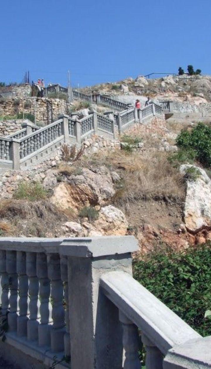 Подъем на Крепостную гору