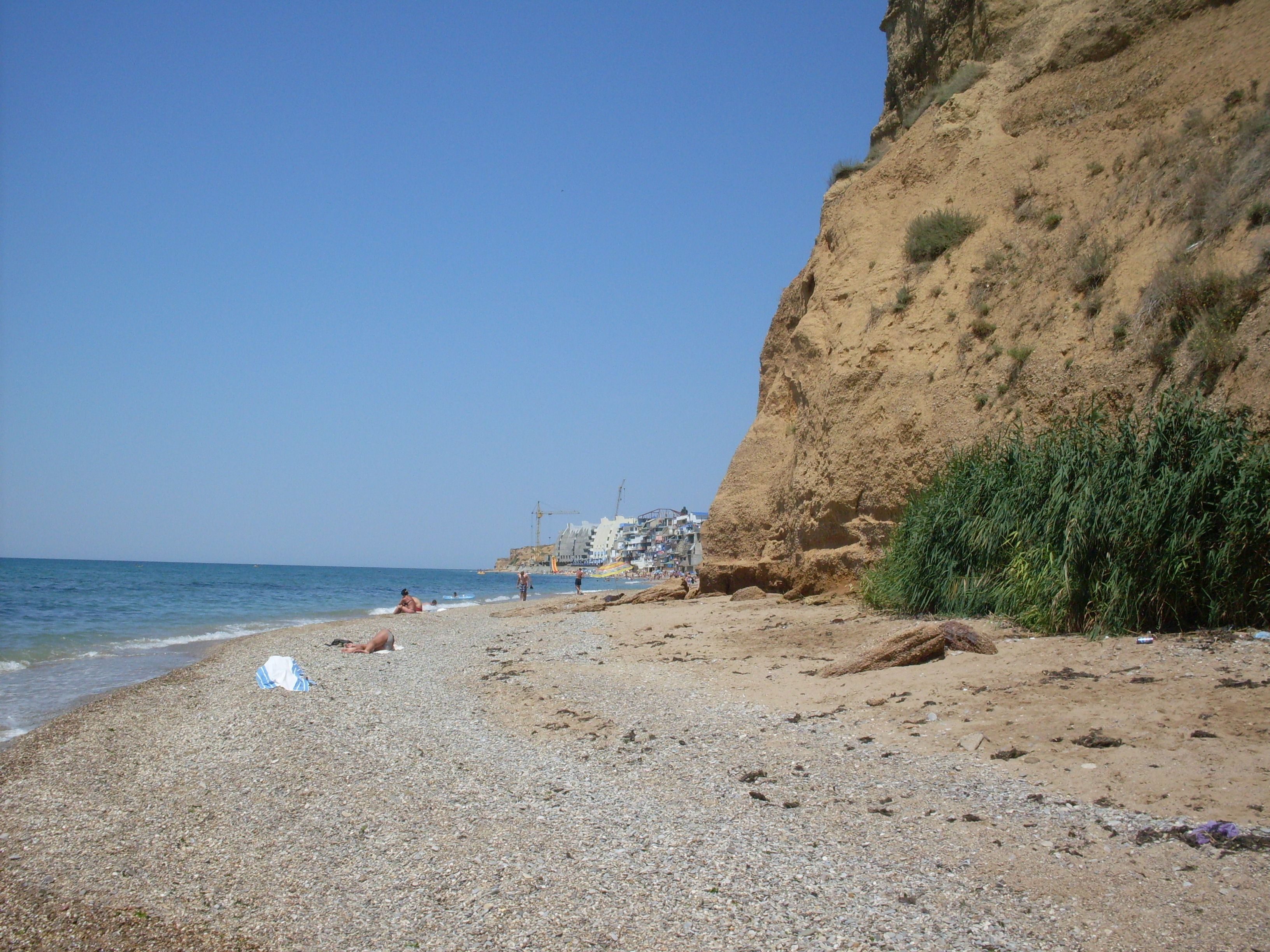 Отдых крым дикий пляж фото