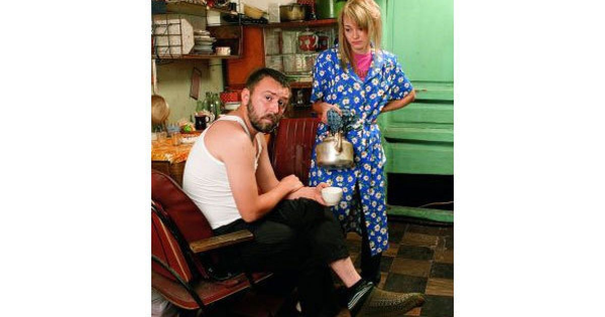 Шнуров та Оксана Акіньшина @ Rolling Stone