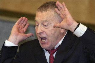 Парламент Чечні вимагає вигнати Жириновського з Думи