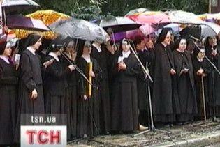 На Львівщині пройшла молитовна демонстрація проти релігійних гонінь