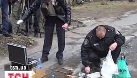 Вибух в центрі Києва