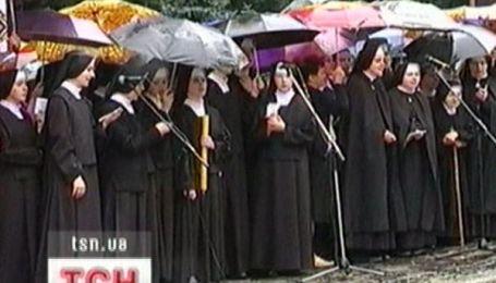 Священики протестують у Лвові