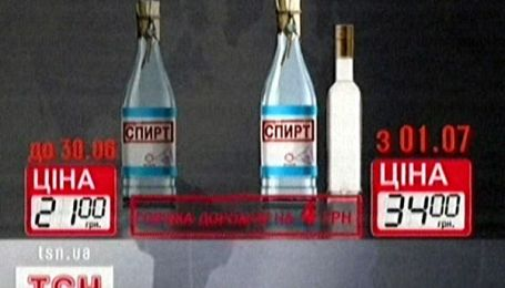 З першого липня виростуть ціни на алкоголь