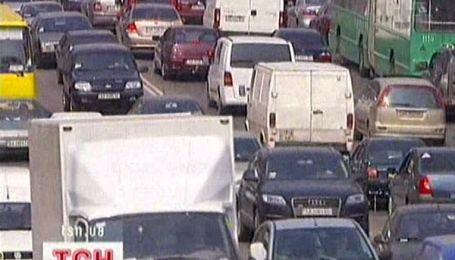 Пекло на київських дорогах