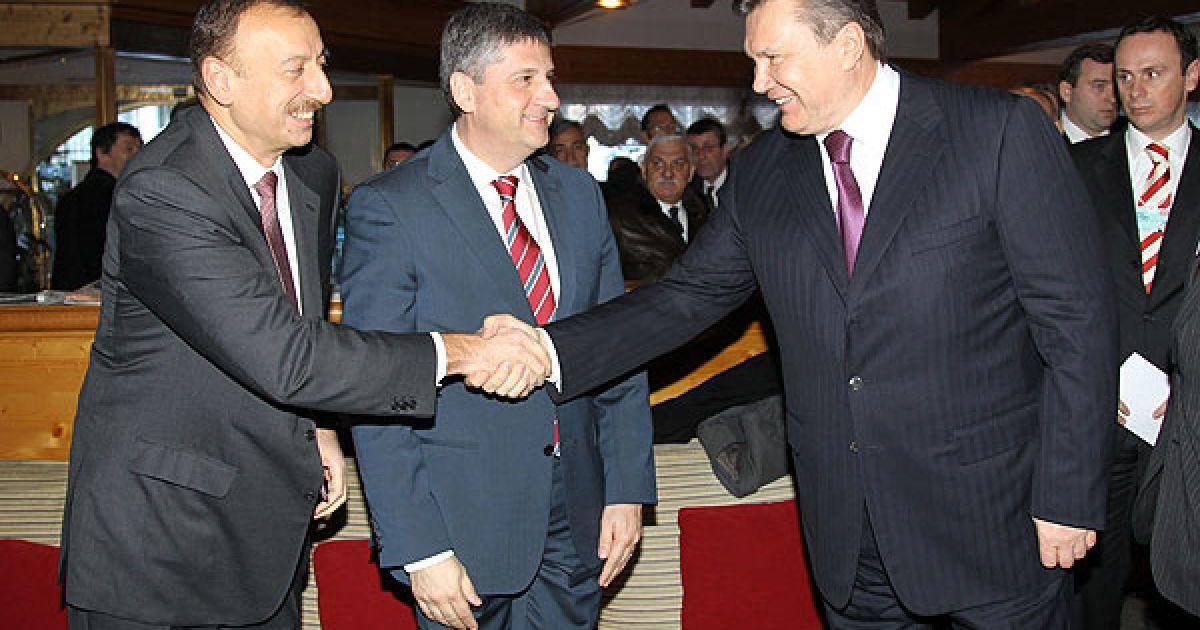 Президент України Віктор Янукович взяв участь у щорічній зустрічі світових лідерів, бізнесменів і політиків на Всесвітньому економічному форумі у місті Давос (Швейцарія). @ President.gov.ua