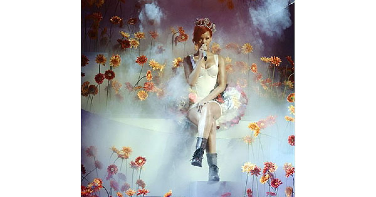 Виступ Ріанни на MTV Europe Music 2010 @ AFP