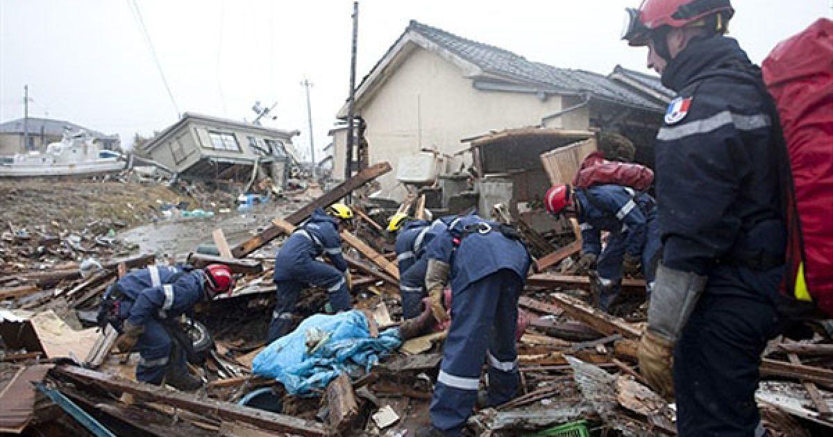 На тихоокеанському узбережжі Японії виявляють сотні трупів. @ AFP