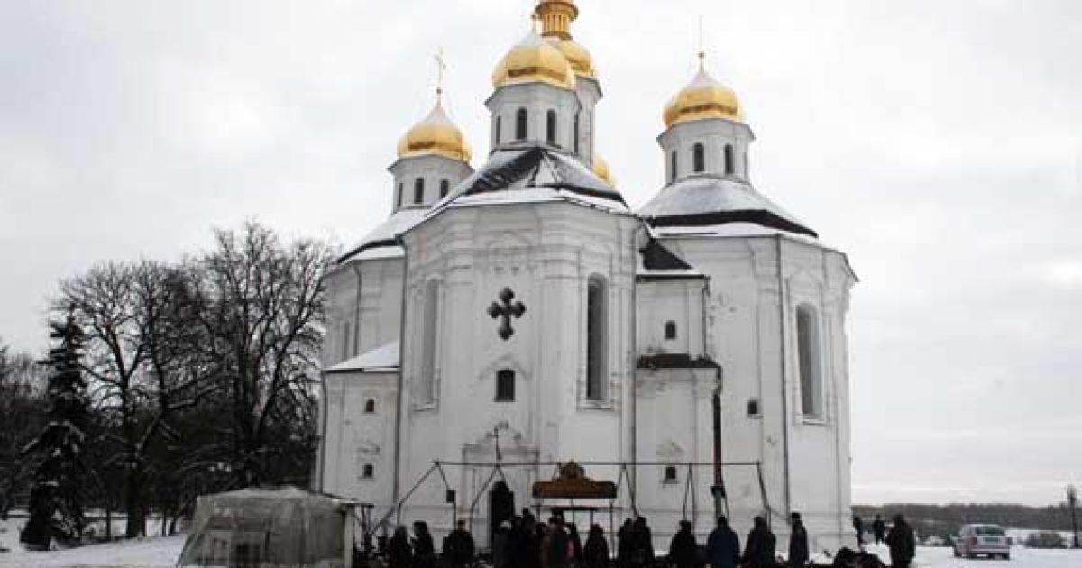 Наметова церква згоріла вщент @ kop.gov.ua
