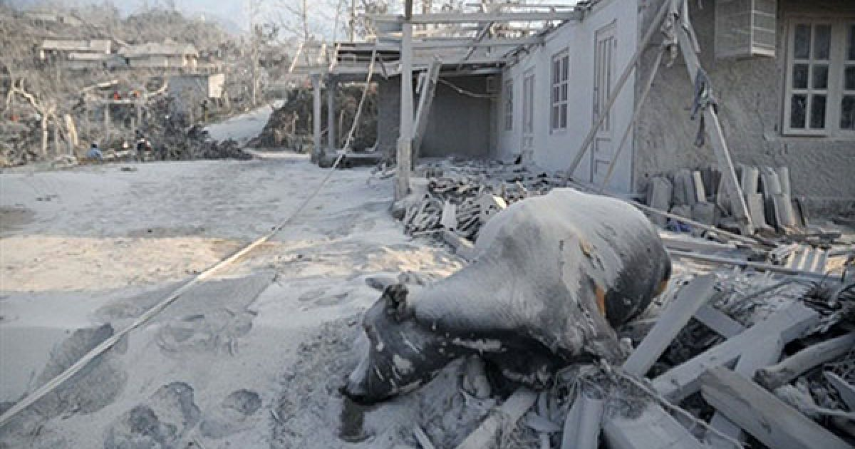 Зі схилів Мерапі вже евакуйовано тисячі жителів сіл. @ AFP