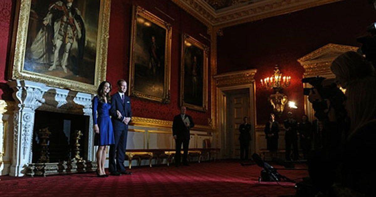 Вільям вже попросив руки Кейт у її батька. @ AFP