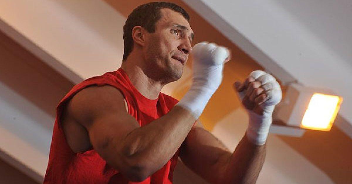 На базі у австрійських Альпах Володимир Кличко завершив готуватись до бою з Дереком Чісорою. @ Klitschko / Facebook