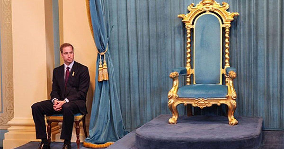 Британський принц Вільям, старший син принца Уельського Чарльза і покійної принцеси Діани @ AFP