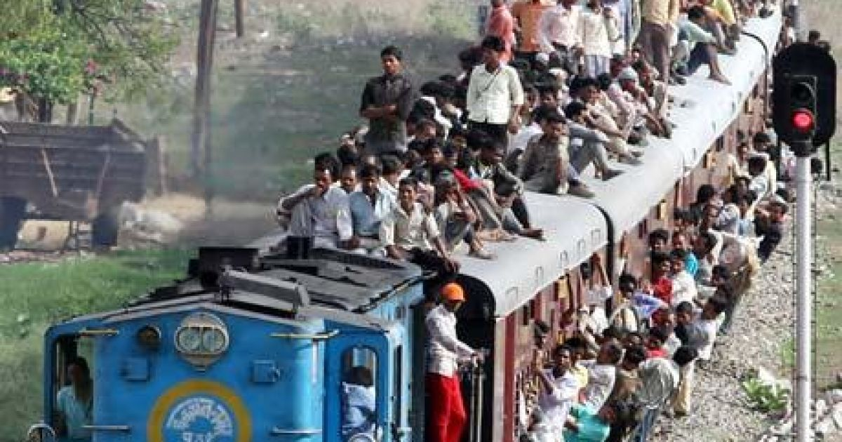 problem faced by people due to railway station in india