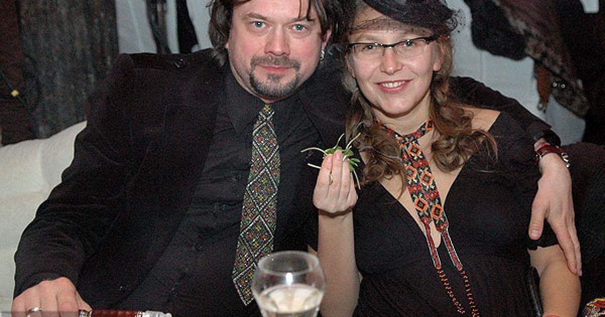 Актор Остап Ступка з дружиною Іриною @ ТСН.ua
