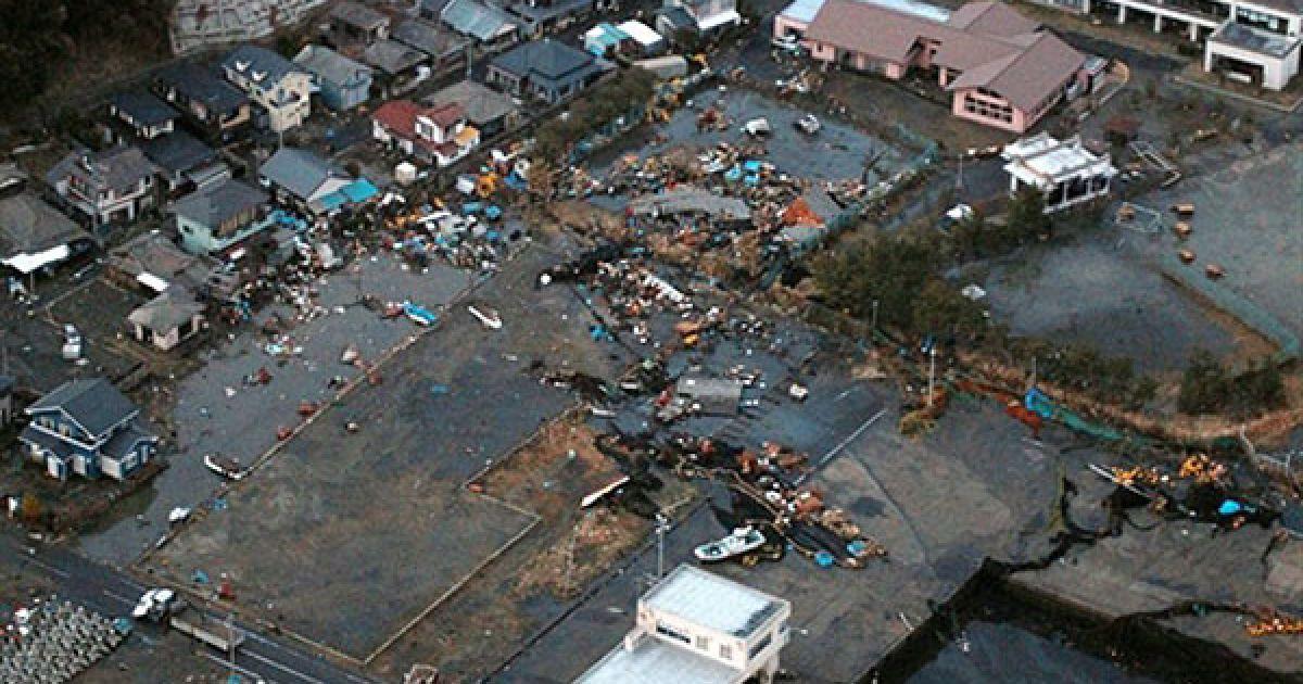 Землетрус і цунамі в Японії