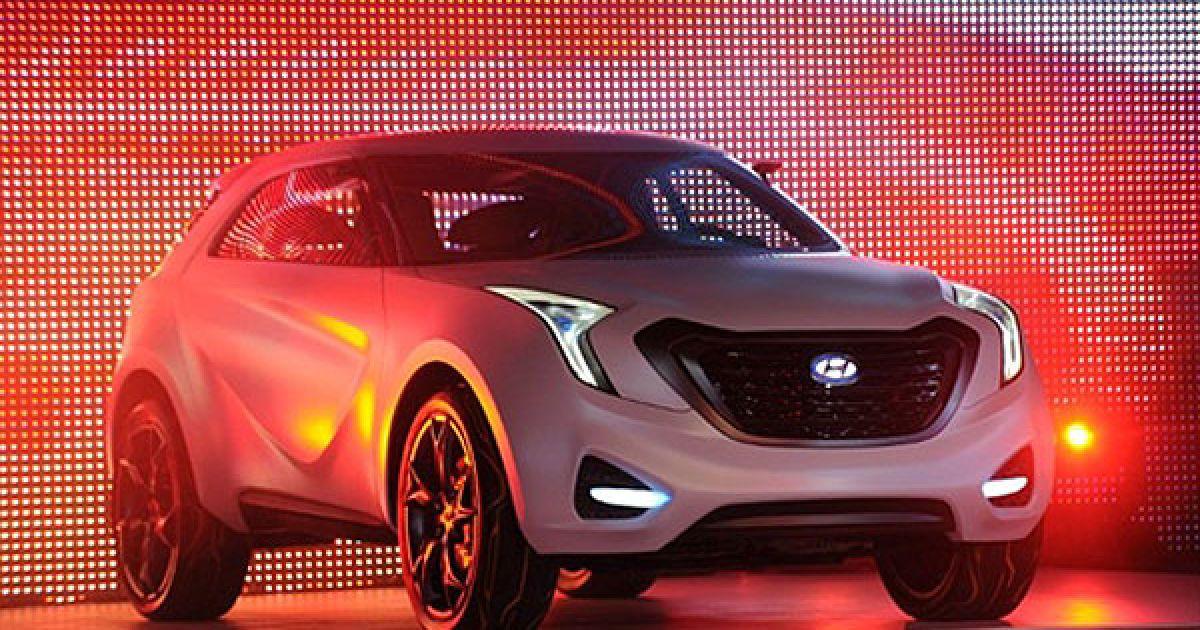 Презентація концепт-кару Curb від Hyundai @ AFP