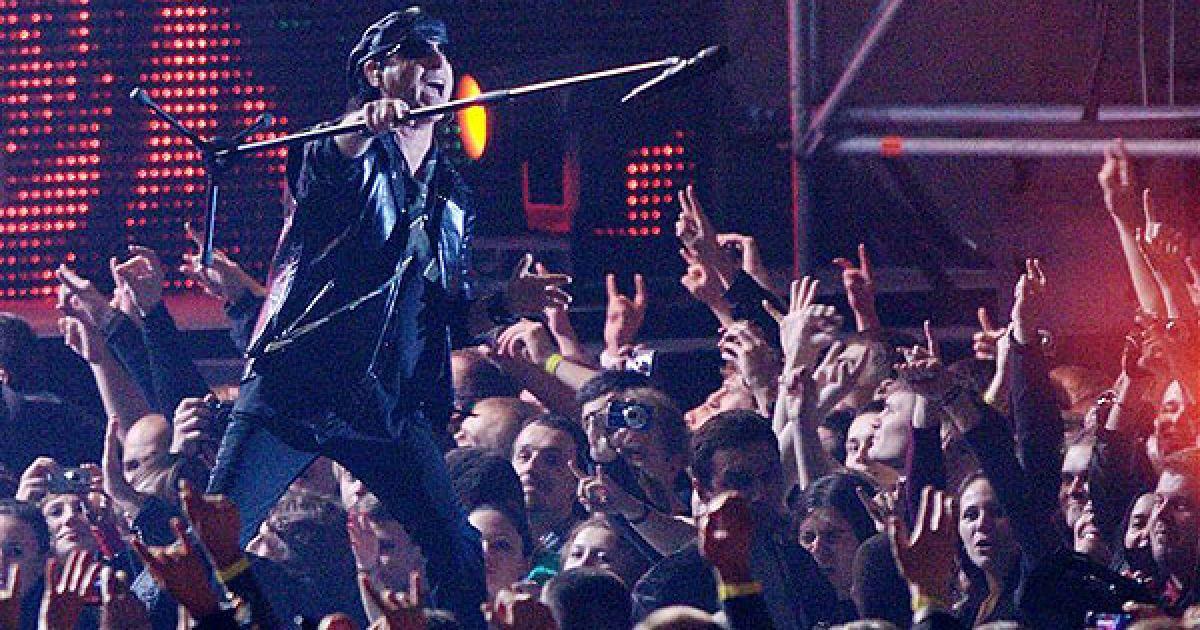 У Києві Scorpions також відвідали благодійний аукціон, який влаштовували брати Клички. @ PHL.com.ua