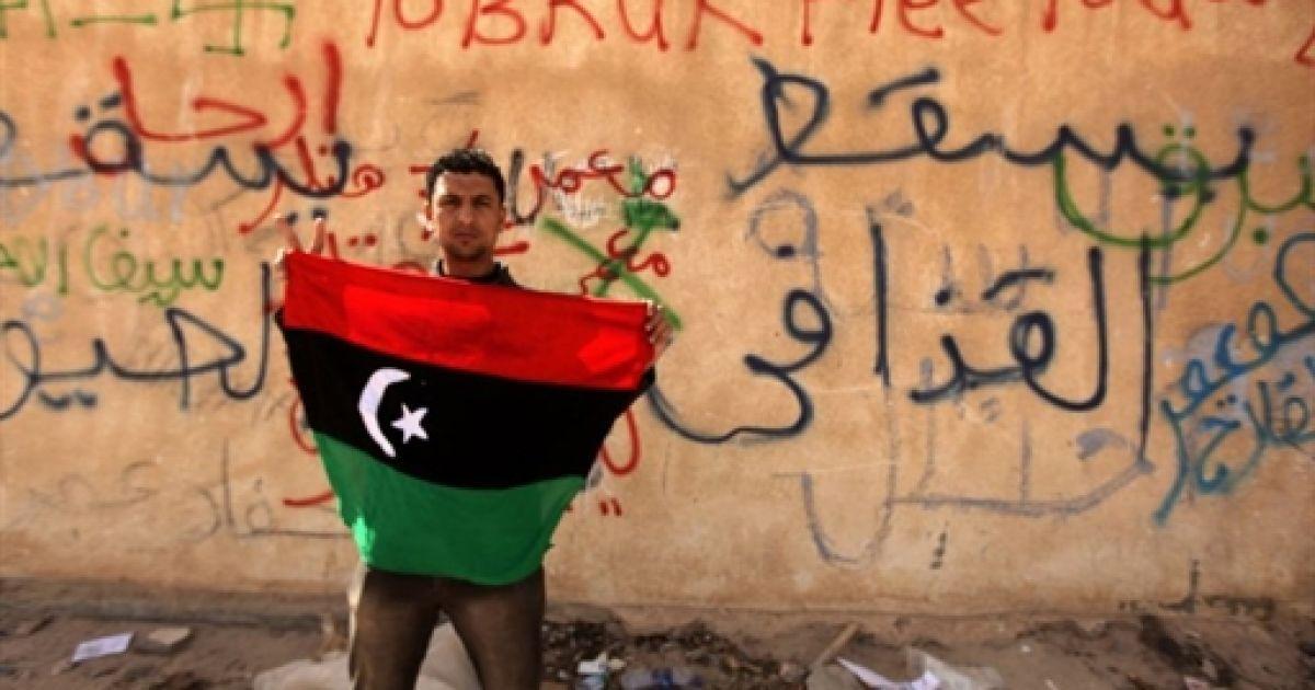 Революция в Ливии @ AFP