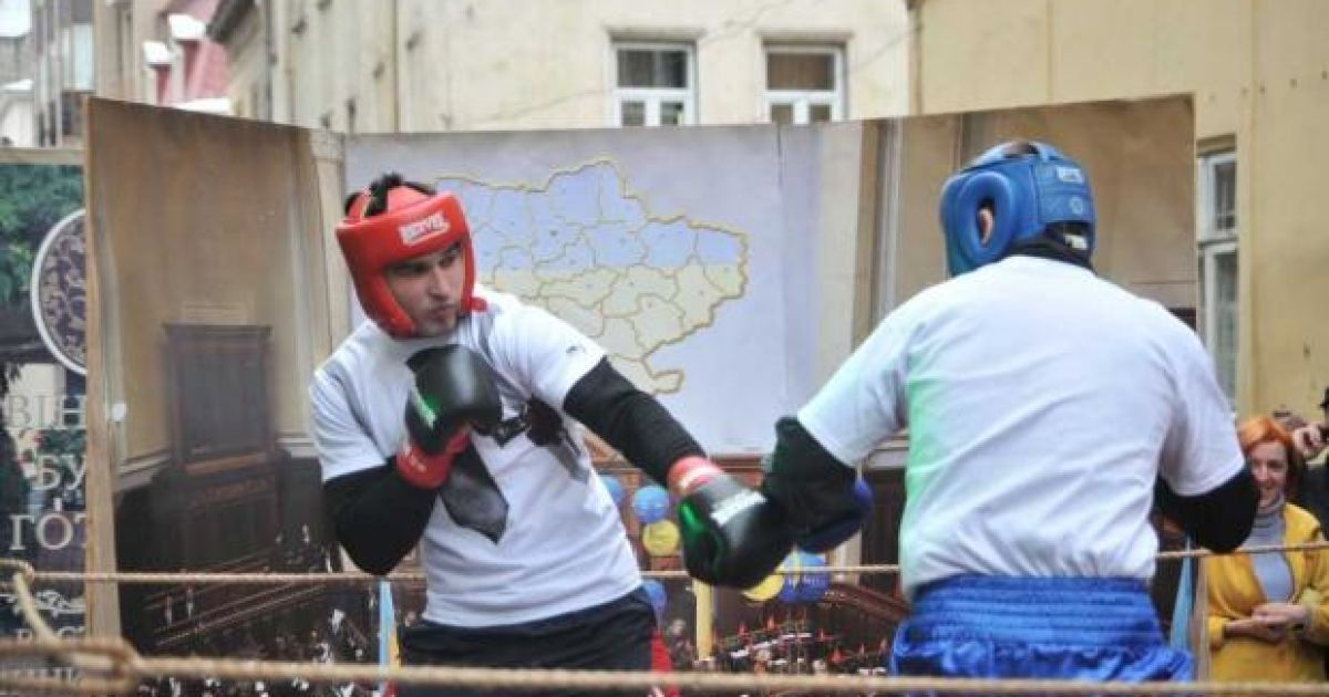 У Львові день народження Мазоха: святкували по-мазохістськи. @ gazeta.ua
