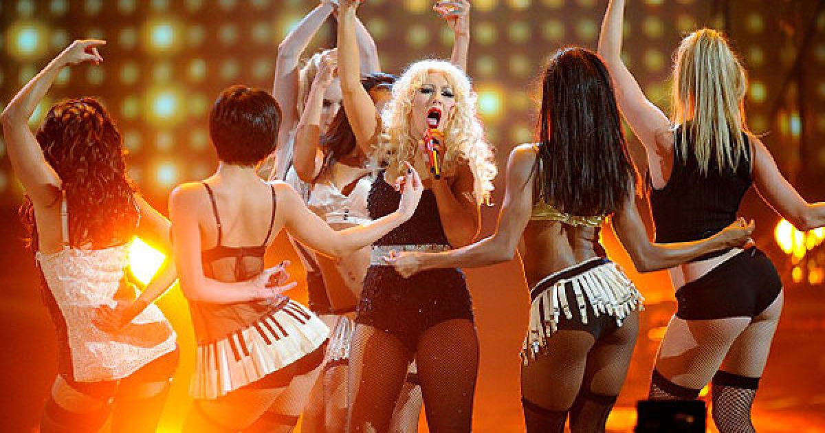 Кристина Агилера на American Music Awards 2010 @ Getty Images/Fotobank