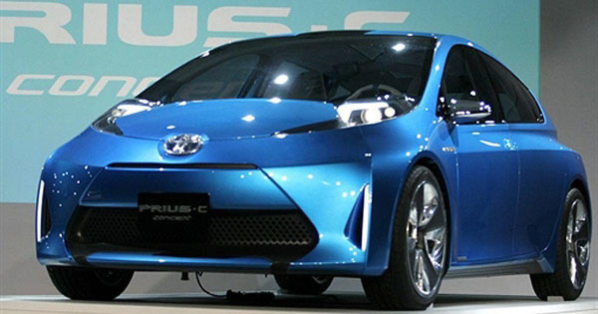 Концепт-кар Toyota Prius C @ AFP