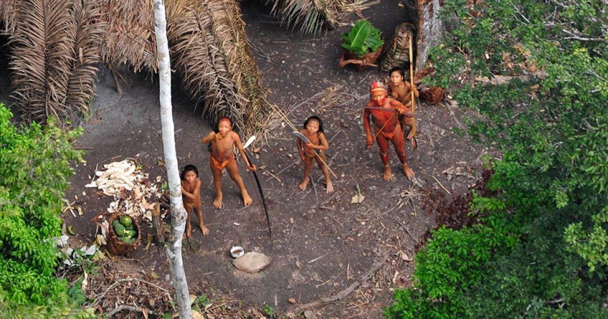 инднйцы в дебрях амазонки секс
