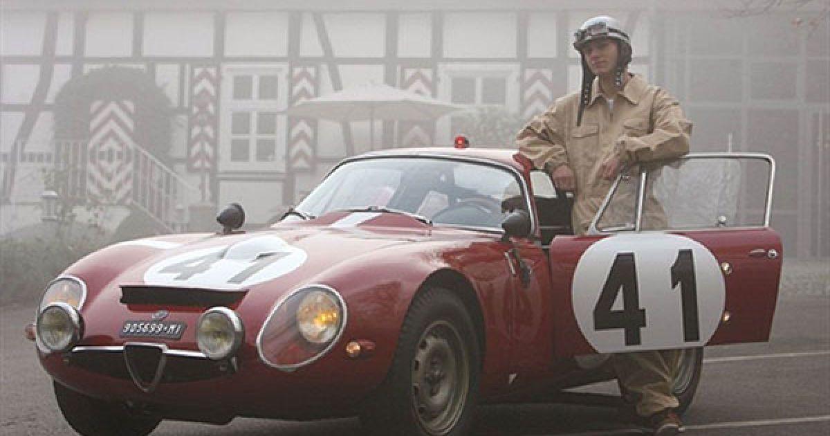 Alfa Romeo Giulia Tubolare Zagato 1964 року @ AFP