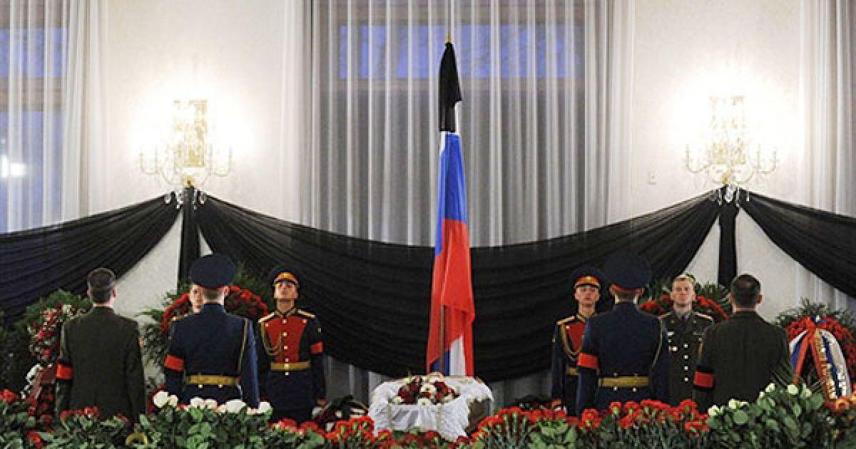 В Будинку прийомів на Воробйових горах пройшло прощання  з Віктором Черномирдіним. @ AFP