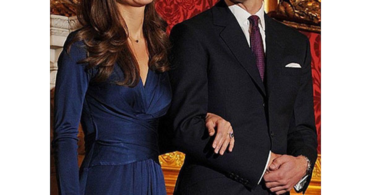 Весілля принца Вільяма і Кейт Міддлтон заплановане на 2011 рік. @ AFP