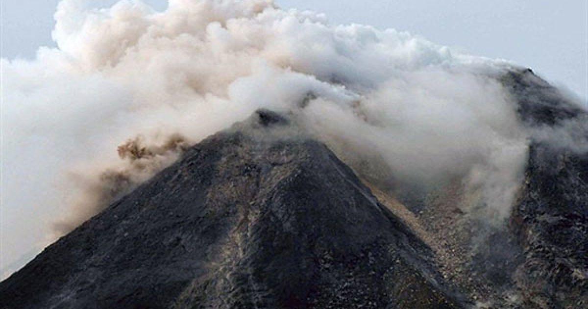 """Мерапі перекладається з індонезійського як """"вогняна гора"""". @ AFP"""