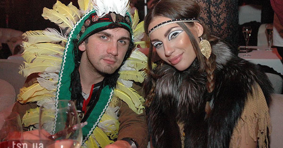 В Києві провели Хелловін-вечірку.Ч @ ТСН.ua