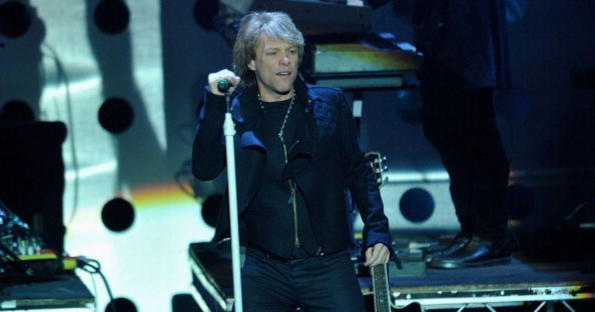 Виступ Bon Jovi на MTV Europe Music 2010 @ Getty Images/Fotobank