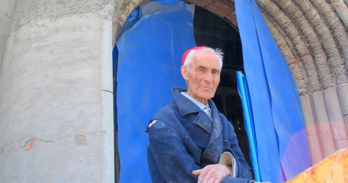 85-річний Джорджіо Галледжо зізнався, що зміг втілити в життя свій задум виключно завдяки своїй вірі. @ inhabitat.com