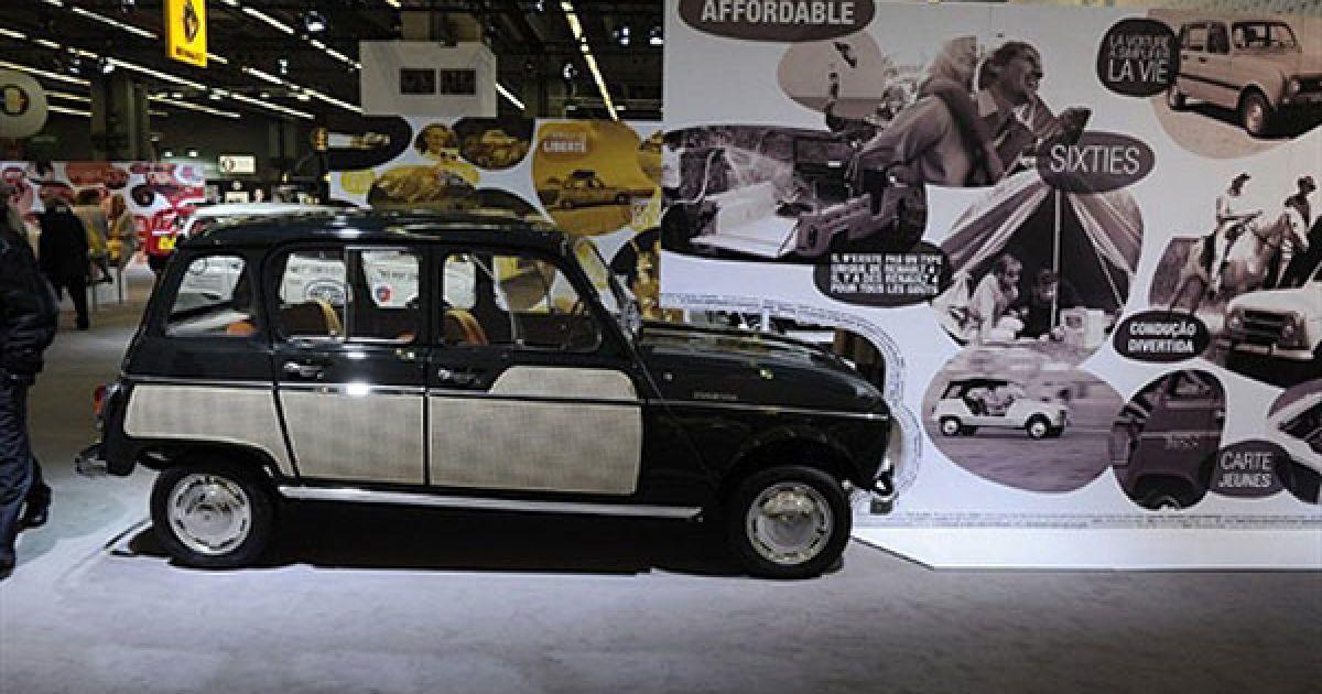 Легендарний Renault 4L, який випускали у 60-х рр. минулого століття. @ AFP