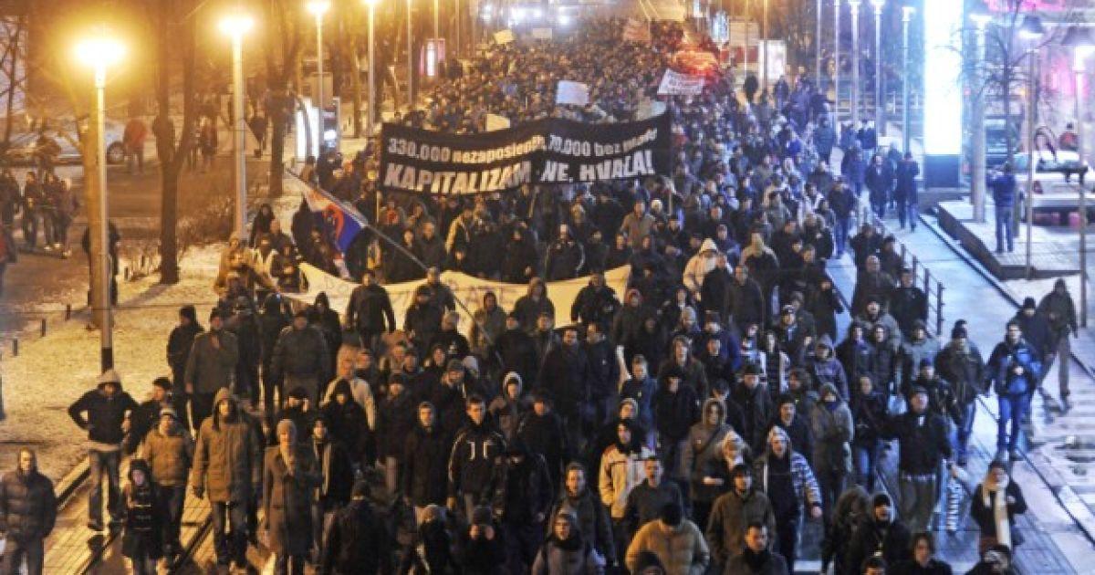 Протести в Хорватії @ cro.time.mk