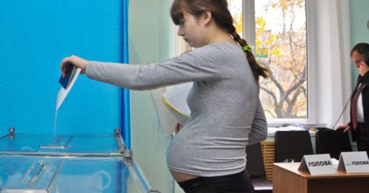 31 жовтня в переважній більшості регіонів України відбулися вибори до місцевих органів влади. @ УНІАН