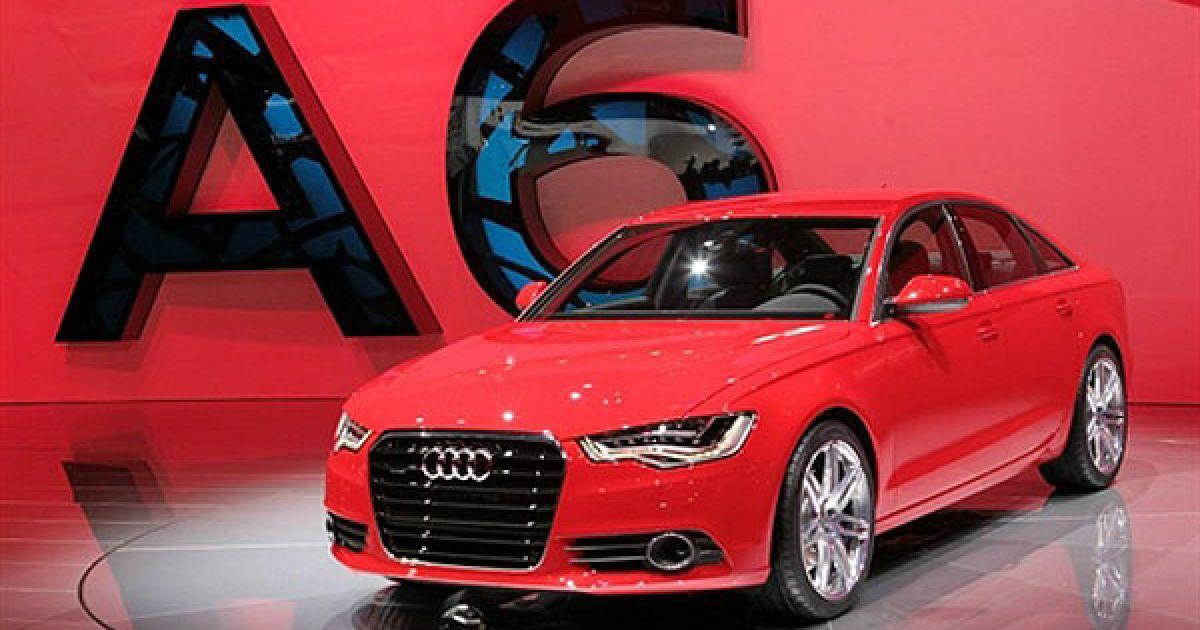 Нова Audi A6 на автошоу в Детройті @ AFP