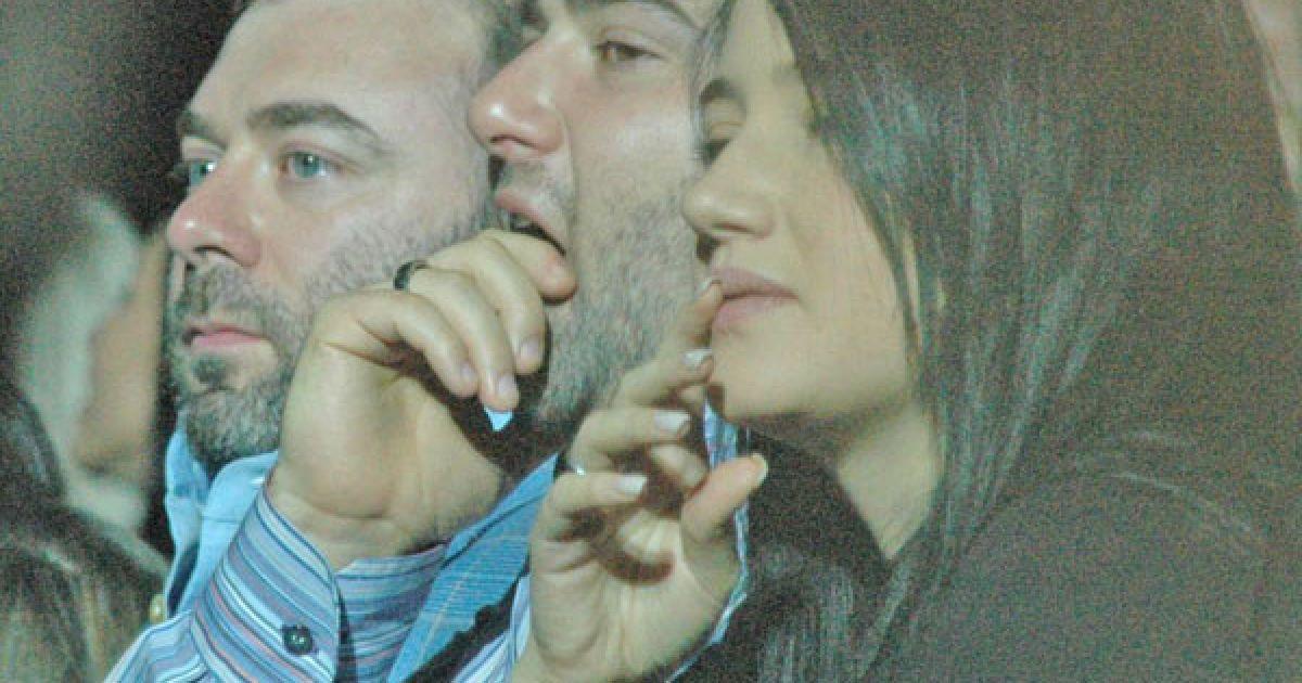 Михайло Кіперман сидів поруч з братом і його дружиною @ ТСН.ua