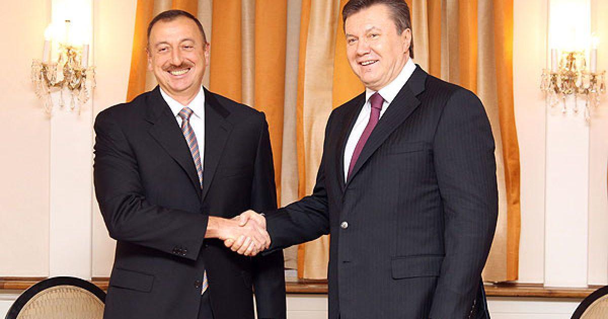 У Давосі президент України Віктор Янукович провів зустріч із президентом Азербайджану Ільхамом Алієвим. @ President.gov.ua