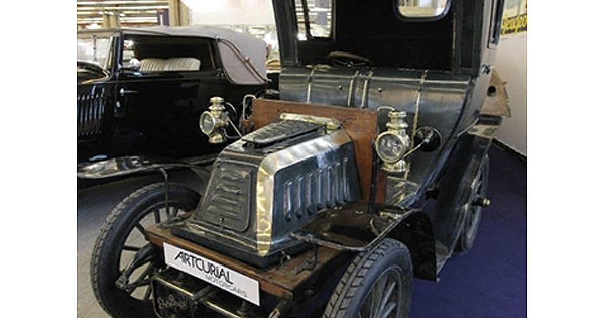 Автомобіль De Dion Bouton K1, вироблений у 1902 році. @ AFP