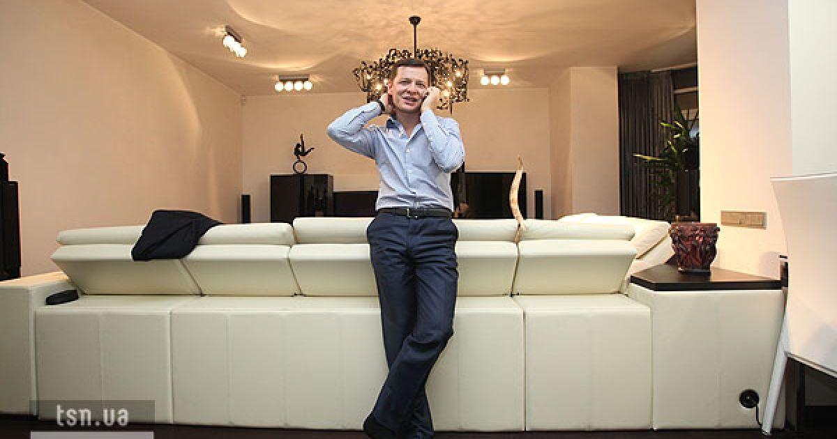 Квартира Ляшко обставлена дорогой мебелью и дизайнерскими вещами
