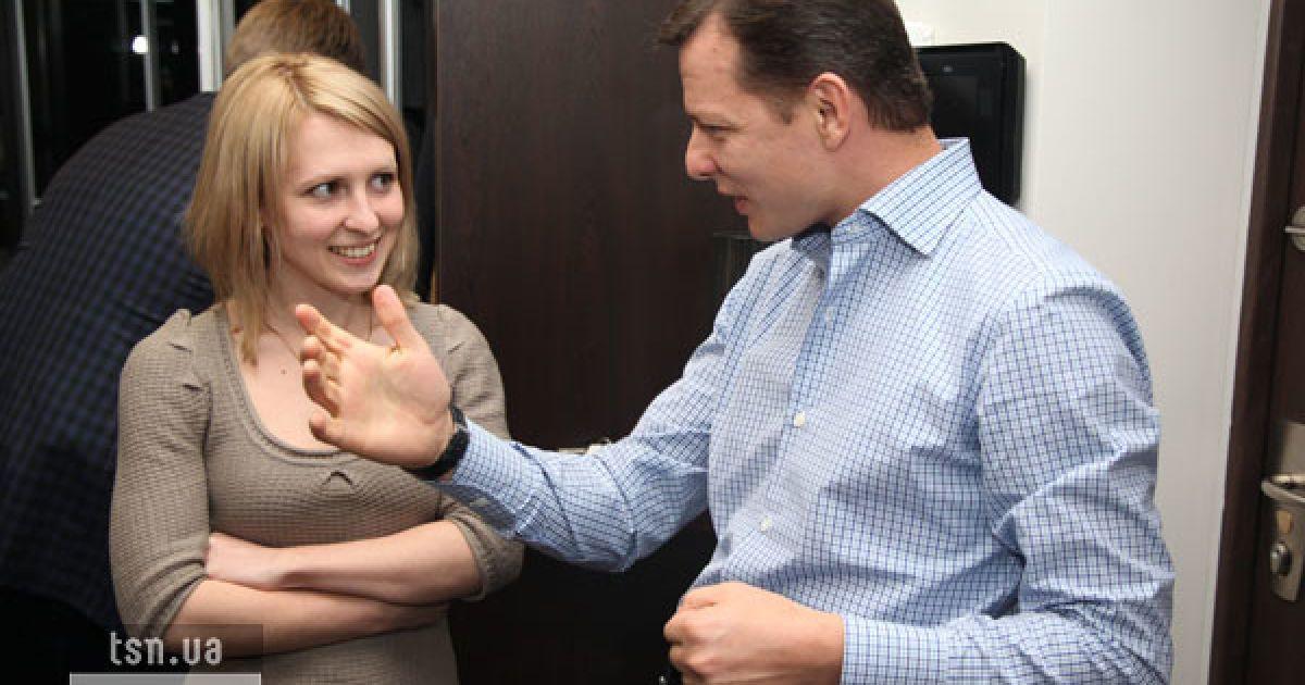 Журналисты ТСН.ua в гостях у Олега Ляшко